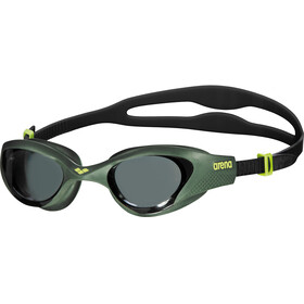 arena The One Goggles smoke-deep green-black